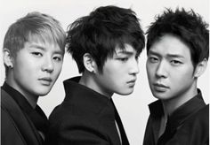 JYJ, comprised of the 3 best vocalist of my ex fav Korean boy band DBSK.