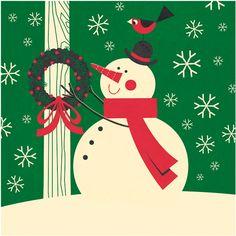 Snowman illustrated by Steve Mack