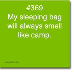 Camp Confessions  haha so true!