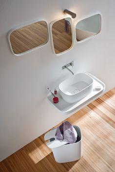 Eternal inspiration - Fonte, design by Monica Graffeo #rexa #design #bathroom #bath
