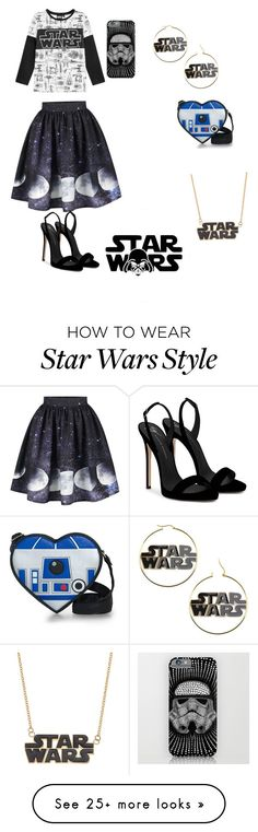 """""""Star Wars"""" by allypoo1 on Polyvore featuring Giuseppe Zanotti"""