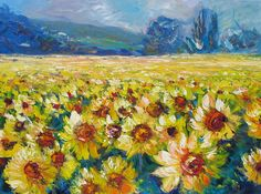 Sunflowers by Helen Blair