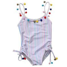 Pudcoco 2019 Brand Summer Kids Baby Girl Bikini Suit Bowknot Flamingo Swimwear Beachwear Swimming 1-6y Reliable Performance Swimwear