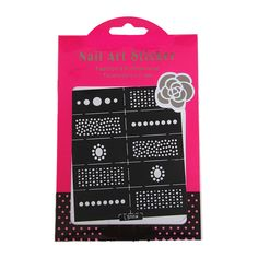 Easy Stamping Tool Nail Art Template Stickers Stamp Stencil Guide Reusable Tips, LS008