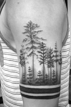 75 Tree Sleeve Tattoo Designs For Men Ink Ideas With Branches Tree Tattoos For Men Ideas And Designs For Guys. 75 Tree Sleeve Tattoo Designs For Men Ink Ideas With Branches. Tree Line Tattoo, Line Tattoos, Trendy Tattoos, Black Tattoos, Body Art Tattoos, Sleeve Tattoos, Cool Tattoos, Tree Tattoo Arm, Arm Tattoos For Men