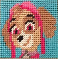 Cross Stitch Paw Patrol(SKYE) by Marcelle Powell ❤️
