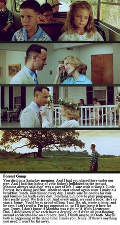 How Forrest Gump loved Jenny ❤️