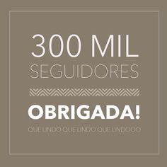 Já somos 300MIL serumaminhos!!!  Meeoodeuuus! QuelindoQuelindoQuelindo!!!  Muuuito obrigada pelo carinho e pelo feedback tãooo positivo que recebo de toodos vcs!! Aqui no insta no Snap na minha Página pessoal @carolcantelli_interiores  e no Facebook tbm que completa 73 MIL Likes na página!!  TÃOOO FELIZ que preciso de muuuuuitos minutos para agradecer  Haha MUUUITO OBRIGADA gente!!  Deus é tãooo maravilhoso comigo todos os dias Deus me guia e me protege! Por isso chegamos até aqui…