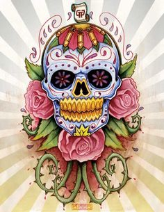 Image detail for -Sugar Skull by mr biggs Sugar Skull Designs Inspiration from Mexican ...