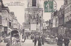 Place de l'Hôtel de Ville, Le marché aux volailles.                                                                                                                                                                                 Plus