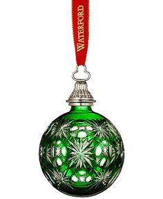 Waterford Crystal Christmas Ornaments Collection - All Christmas Ornaments - Holiday Lane - Macy's