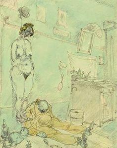 George Grosz - Ende des Weges (1913)