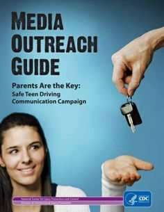 Our Media Outreach Guide can give you ideas on how to work with the media to generate news coverage and raise visibility for Teen Driver Safety Week. | Parents Are the Key to Safe Teen Driving | CDC Injury Center