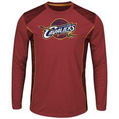 a09f9460b NBA Men s Big  amp  Tall Long-Sleeve T-Shirt - Cleveland Cavaliers