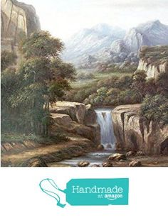 Oil painting-Streams in the mountains-Hand painted original landscape painting-Artwork for Home Decor-Order scenery painting on canvas without frame-Custom original painting-79 from SunBirdArts http://www.amazon.com/dp/B01AF5SEOS/ref=hnd_sw_r_pi_dp_CyuMwb1629KHN #handmadeatamazon