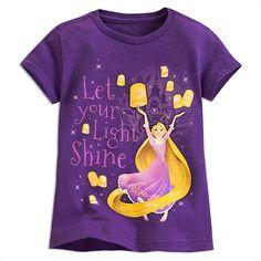 Rapunzel Lantern Tee for Girls | Tees, Tops & Shirts | Disney Store