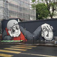 Amazing graff rue de Ménilmontant