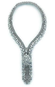 Van Cleef & Arpels - Medaillon zip necklace by Van Cleef & Arpels, via Flickr