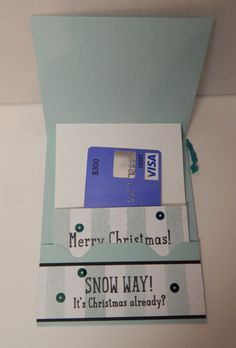Sliding Gift Card Holder - InsideThis is such a fun card - everyone loves gift card holders and this one moves too!!! Take those gift card holders from DRAB to FAB!  Check out my video tutorial and get all the dimensions and directions on my blog here:  http://astampabove.typepad.com/my-blog/2015/11/feature-friday-sliding-gift-card-holder.html  Thanks for looking!