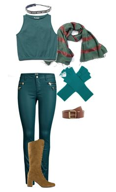 """""""Joseph Joestar"""" by mcj101002 ❤ liked on Polyvore featuring Marc Jacobs, Free People, ONLY, MANGO, Yves Saint Laurent and Deepa Gurnani"""