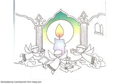 6th, Imam Jaafar Assadigh coloring