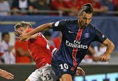 muManchester United menelan kekalahan 0-2 saat lawan Paris Saint-Germain di ajang Internasional Champions Cup lewat gol Blaise Matuidi dan Zlatan Ibrahimovic.