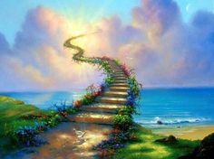 """""""É uma escada em caracol e que não tem corrimão. Vai a caminho do Sol mas nunca passa do chão.  Os degraus, quanto mais altos, mais estragados estão. Nem sustos, nem sobressaltos servem sequer de lição.  Quem tem medo não a sobe Quem tem sonhos também não. Há quem chegue a deitar fora o lastro do coração.  Sobe-se numa corrida. Correm-se p'rigos em vão. Adivinhaste: é a vida a escada sem corrimão.""""  David Mourão-Ferreira"""