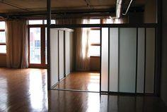 51 best loft room divider images on pinterest rh pinterest com loft style room dividers loft curtain room dividers