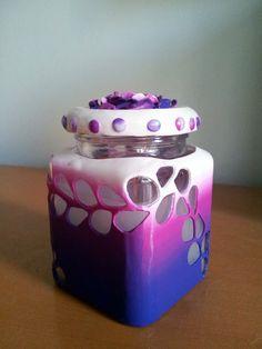 Candel in a jar 01