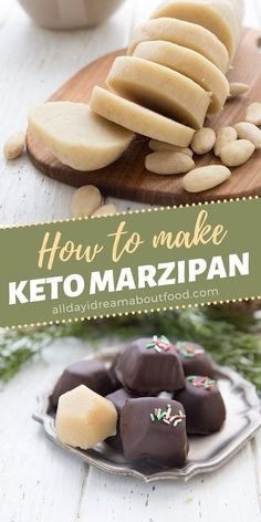 Keto marzipan is easy to make and so fun to play with. It's a holiday classic in many countries and can be used in cookies, cakes, and candy. Dip it in chocolate or use it like almond paste in keto… More