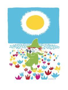 Nuuskamuikkunen-keittiöpyyhe Moomin Shop, Tea Towels, Tableware, Baby Style, Art, Art Background, Dish Towels, Dinnerware, Tablewares