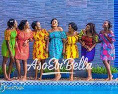 BellaNaija Weddings presents – Vol. 193 – The Latest Aso Ebi Styles - BellaNaija African Print Dresses, African Print Fashion, African Dress, Ankara Fashion, African Prints, African Attire, African Wear, African Women, African Outfits