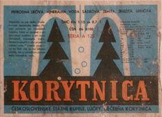 SBÍRKA ETIKET OD NEOCHUCENÝCH MINERÁLNÍCH A BALENÝCH VOD - Fotoalbum - COLLECTION - Staré etikety Slovensko (Old labels from Slowakei) - Korytnica 3