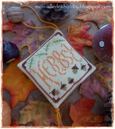 Herbst by Martina Stitching, Coin Purse, Beautiful, Fall, Costura, Stitches, Sewing, Sew, Full Sew In