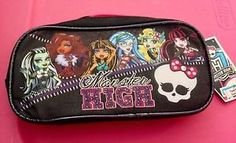 Monster High Ziooered Pencil and School Supplies Case New | eBay