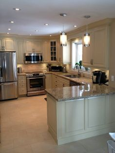 Astounding Should You Do Your Own Kitchen Remodeling Ideas. Phenomenal Should You Do Your Own Kitchen Remodeling Ideas. Kitchen Room Design, Kitchen Cabinet Design, Kitchen Redo, Kitchen Cupboards, Kitchen Layout, Home Decor Kitchen, Kitchen Interior, Home Kitchens, Kitchen Remodeling