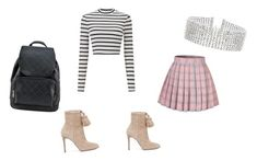"""Untitled #21"" by hudsongenesis on Polyvore featuring Miss Selfridge, MICHAEL Michael Kors and Steve Madden"