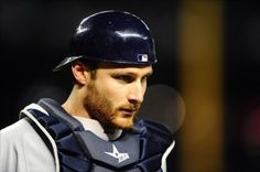 Jonathan Lucroy - catcher for the Milwaukee Brewers.  Very nice watching him in action.