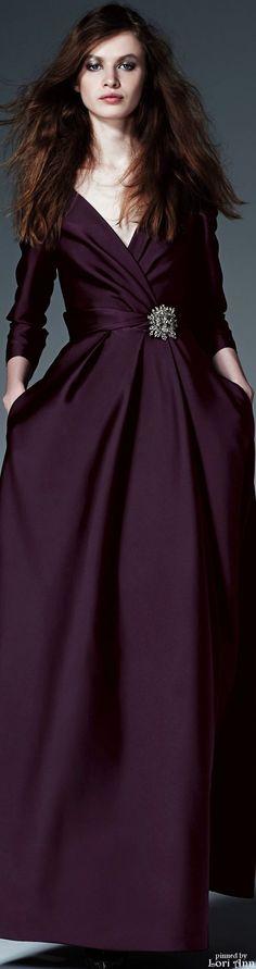 Alberta Ferretti Pre-Fall 2015 (I love this color my hole wardrobe can be this color)