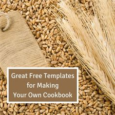15 best cookbook template images on pinterest cookbook template