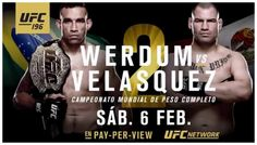 Stipe Miocic will square off against champion Fabricio Werdum Feb. 6 in the main event of UFC 196 at MGM Grand in Las Vegas. Ufc Fight Card, Ufc 196, Cain Velasquez, Stipe Miocic, Super Bowl Weekend, World Heavyweight Championship, Weights