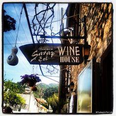 Wine House In Üzümlü, near Fethiye, Southwest Turkey. http://www.turkeysforlife.com/2012/12/fethiye-turkey-instagram-photos-italy.html