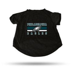 Philadelphia Eagles Sparo Black Pet T-Shirt
