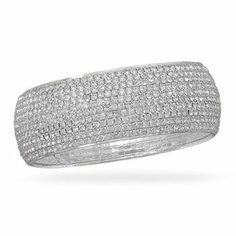 Crystal Fashion Bangle Bracelet MMAIntl. $53.75