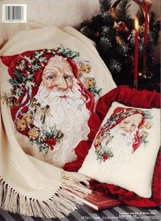Gallery.ru / Фото #53 - Новогодние вышивки - manq