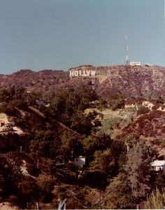 Hollywood Sign Under Construction