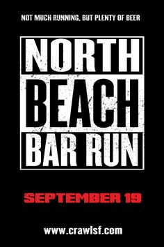 San Francisco's most awesomely amazing Pub Crawl is coming up on 9/19 Get your tickets here: https://www.eventbrite.com/e/the-13th-annual-north-beach-bar-run-tickets-18504903665