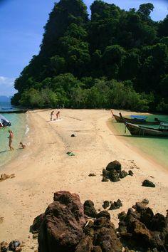 Island hopping from Koh Yao Noi, Phuket, Thailand