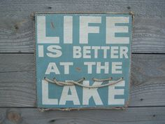another fun lake sign
