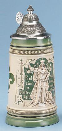 GAMBRINUS STEINs - Authentic Beer Steins from Germany - 1001BeerSteins.com